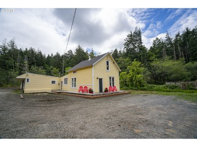 Bandon Single Family Home For Sale: 57566 Pederson Dr