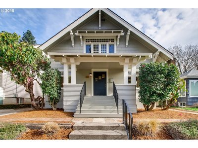 Single Family Home Sold: 3824 SE 42nd Ave
