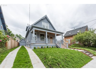 Portland Single Family Home For Sale: 121 NE Hancock St