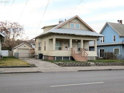 Pendleton Single Family Home For Sale: 612 SW Court Ave