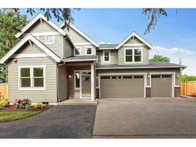 Wilsonville, Canby, Aurora Single Family Home For Sale: 125 SW 8th St