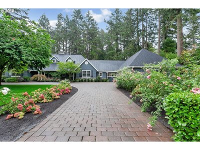 Lake Oswego Single Family Home For Sale: 435 Iron Mountain Blvd