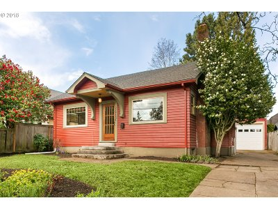Portland Single Family Home For Sale: 2615 N Emerson St