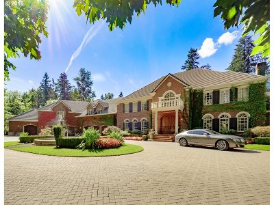 Lake Oswego Single Family Home For Sale: 4140 Canal Rd