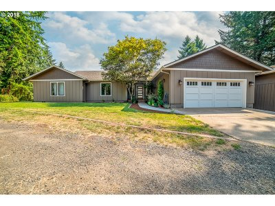Cottage Grove, Creswell Single Family Home For Sale: 33751 Cea-Jac Rd