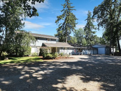 Canby Single Family Home Pending: 9850 S Barnards Rd