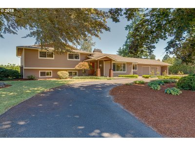 Canby Single Family Home Sold: 11310 S Macksburg Rd