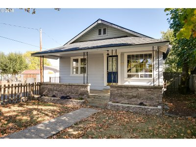 Creswell Single Family Home For Sale: 48 N 4th St