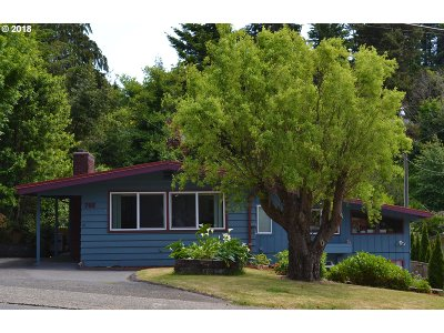 Coos Bay Single Family Home For Sale: 766 N 10th St