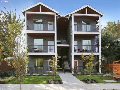 Multnomah County Condo/Townhouse For Sale: 5025 N Minnesota Ave