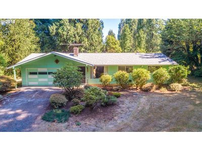 Single Family Home For Sale: 37427 SE Lusted Rd