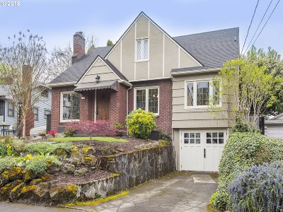 Portland Single Family Home For Sale: 3145 NE 13th Ave