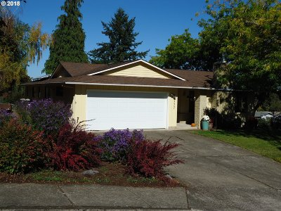 Eugene Single Family Home For Sale: 1777 W 24th Ave