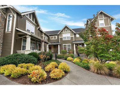 Beaverton Condo/Townhouse For Sale: 11647 SW Auklet Loop