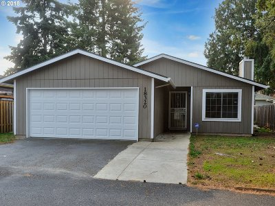 Beaverton, Aloha Single Family Home For Sale: 18320 NW Tara St