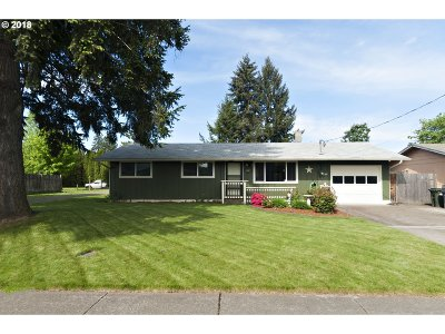 Springfield Single Family Home For Sale: 554 49th St