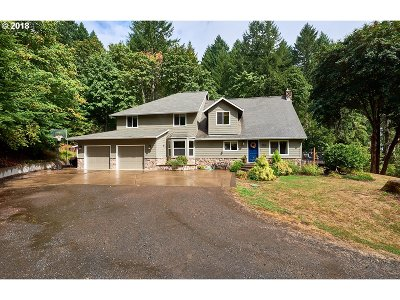 McMinnville Single Family Home For Sale: 16635 NW Cook Rd