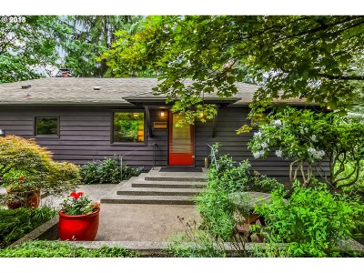 Single Family Home For Sale: 10612 SW 4th Ave