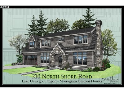 Lake Oswego Single Family Home For Sale: 210 Northshore Rd