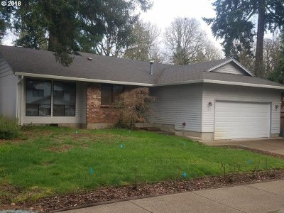 Beaverton Single Family Home For Sale: 1412 SW 179th Ct