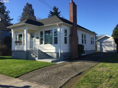 Single Family Home For Sale: 4533 SE 61st Ave