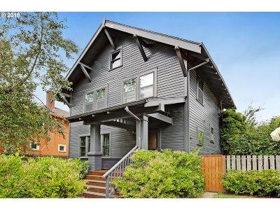 Single Family Home For Sale: 3015 NE Weidler St