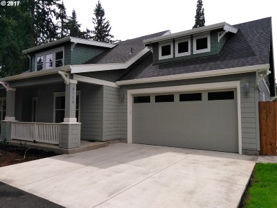 Milwaukie Single Family Home For Sale: 4500 SE Manewal