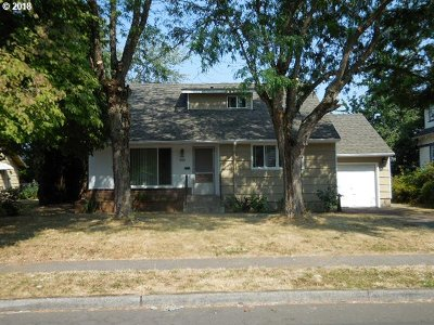 Single Family Home For Sale: 3708 SE 76th Ave