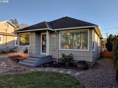 Vancouver WA Single Family Home Sold: $272,500