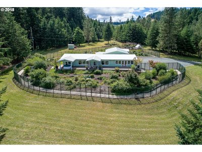 Creswell Single Family Home For Sale: 30547 Camas Swale Rd