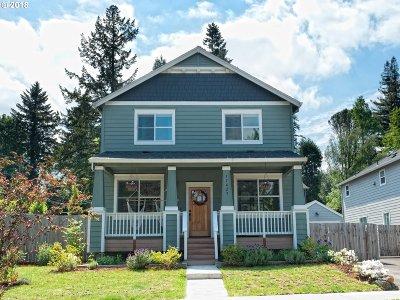 Milwaukie Single Family Home For Sale: 17429 SE Blanton St