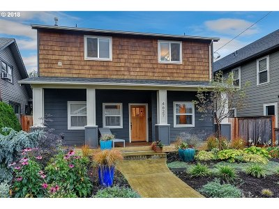 Single Family Home For Sale: 4627 NE 29th Ave