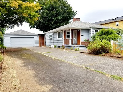 Single Family Home For Sale: 335 NE 92nd Ave