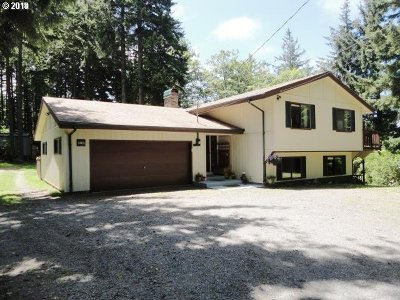 Coos Bay Single Family Home For Sale: 64472 Tomita Rd