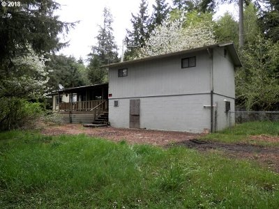 Coos Bay Single Family Home For Sale: 63055 Coal Creek Rd
