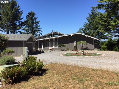 Port Orford Single Family Home For Sale: 250 Coast Guard Hl Rd