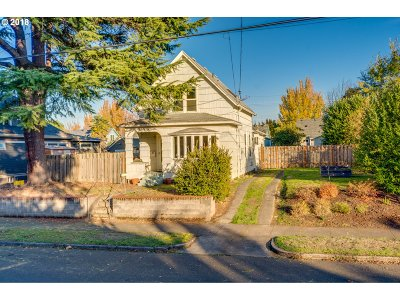 Portland Single Family Home For Sale: 6334 N Curtis Ave