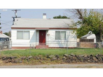 Hermiston Single Family Home For Sale: 410 NE 4th St