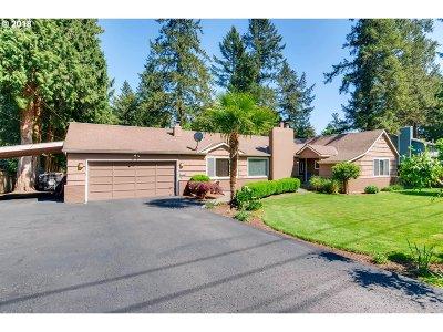 Lake Oswego Single Family Home For Sale: 15780 Twin Fir Rd