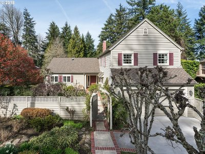 Portland Single Family Home For Sale: 2965 NW Cumberland Rd