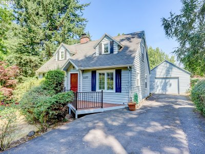 Single Family Home For Sale: 11277 SW Capitol Hwy