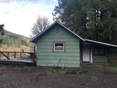 Mapleton Single Family Home Pending: 9967 Sweet Creek Rd
