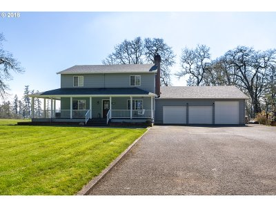 Hillsboro Single Family Home For Sale: 12835 SW Clark Hill Rd