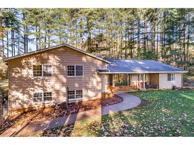 Cottage Grove, Creswell Single Family Home For Sale: 31701 Rudolph Rd