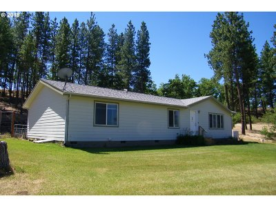 Goldendale WA Single Family Home Sold: $275,000