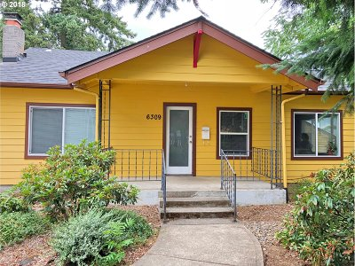 Clackamas County, Multnomah County, Washington County Multi Family Home For Sale: 6303 SE Woodstock Blvd