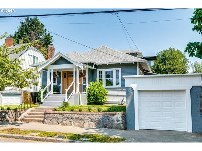 Multnomah County Single Family Home For Sale: 4742 N Vancouver Ave