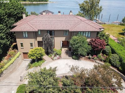 Multnomah County Single Family Home For Sale: 1525 NE Marine Dr