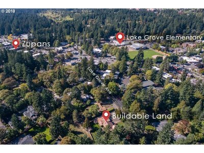 Lake Oswego Residential Lots & Land For Sale: 3884 Lake Grove Ave