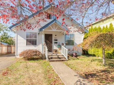 Single Family Home For Sale: 4921 SE 79th Ave